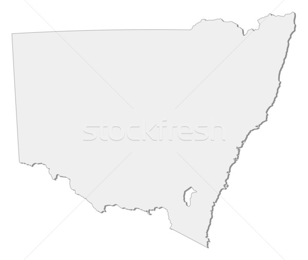 Map of New South Wales (Australia) Stock photo © Schwabenblitz