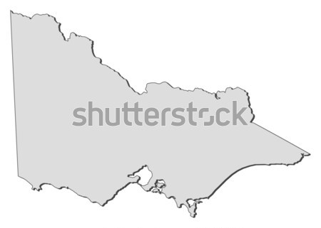 Map of Victoria (Australia) Stock photo © Schwabenblitz