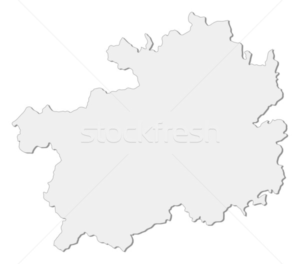 Map of Guizhou (China) Stock photo © Schwabenblitz