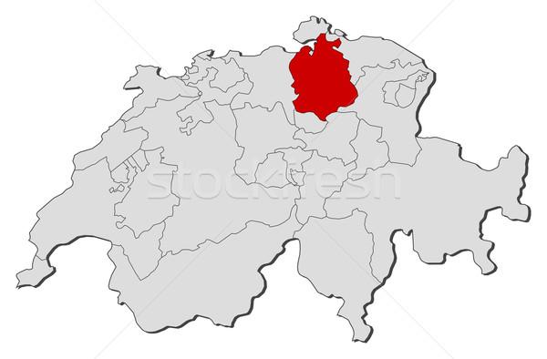 Harita Zürih siyasi birkaç dünya soyut Stok fotoğraf © Schwabenblitz