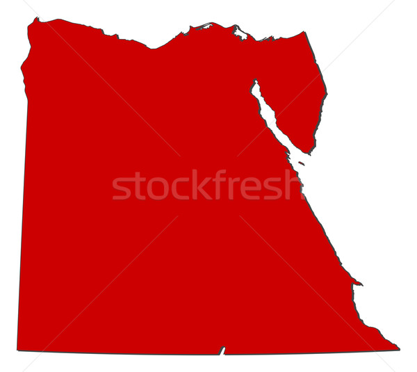 Map of Egypt Stock photo © Schwabenblitz