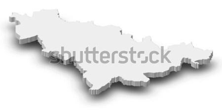 Térkép Ausztria politikai néhány absztrakt világ Stock fotó © Schwabenblitz