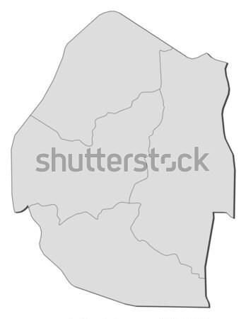 Map of Aquitaine (France) Stock photo © Schwabenblitz