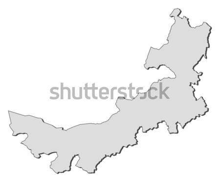 Map of Inner Mongolia (China) Stock photo © Schwabenblitz