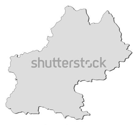 Map of Midi-Pyr Stock photo © Schwabenblitz