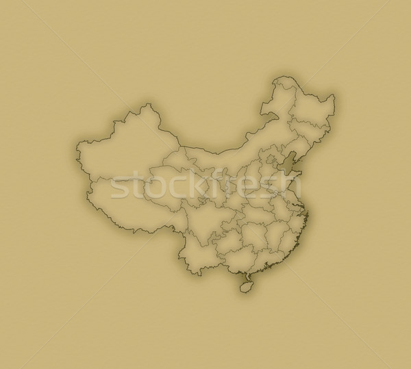 Map - China Stock photo © Schwabenblitz