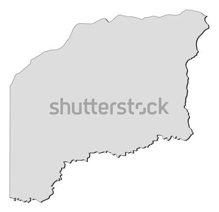 Map of Suriname Stock photo © Schwabenblitz