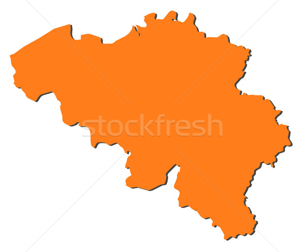 Map of Belgium Stock photo © Schwabenblitz