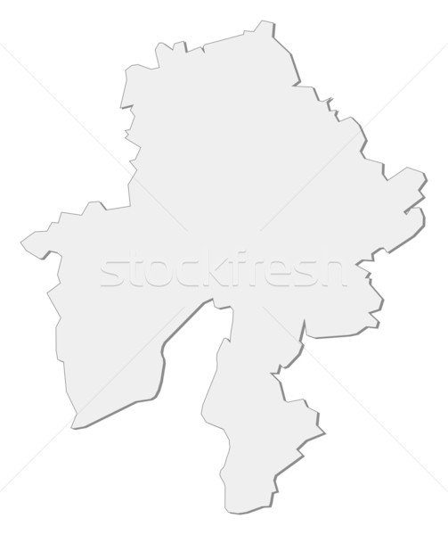 Map of Namur (Belgium) Stock photo © Schwabenblitz