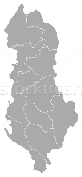 Map - Albania Stock photo © Schwabenblitz