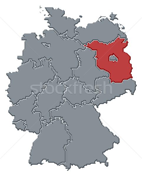Pokaż Niemcy polityczny kilka streszczenie tle Zdjęcia stock © Schwabenblitz
