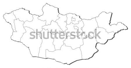 Map - Zimbabwe Stock photo © Schwabenblitz