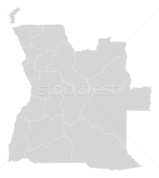 Map of Angola Stock photo © Schwabenblitz