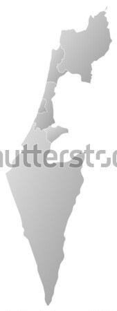 Map of Israel Stock photo © Schwabenblitz
