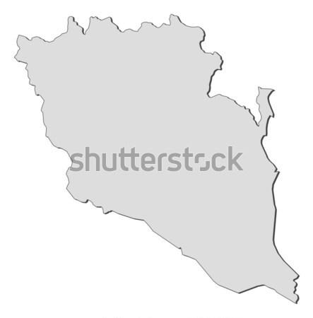 карта Йемен политический несколько аннотация фон Сток-фото © Schwabenblitz