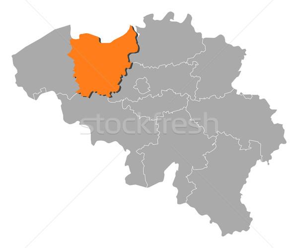 Pokaż Belgia polityczny kilka streszczenie tle Zdjęcia stock © Schwabenblitz