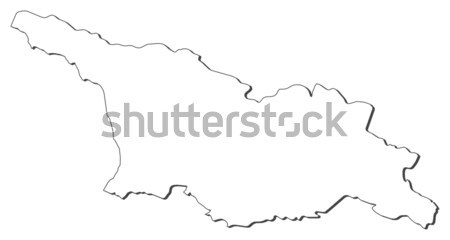 Map of Jilin (China) Stock photo © Schwabenblitz