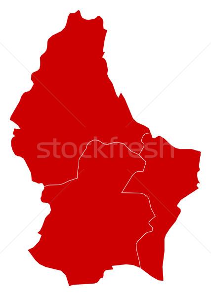 Map - Luxembourg Stock photo © Schwabenblitz