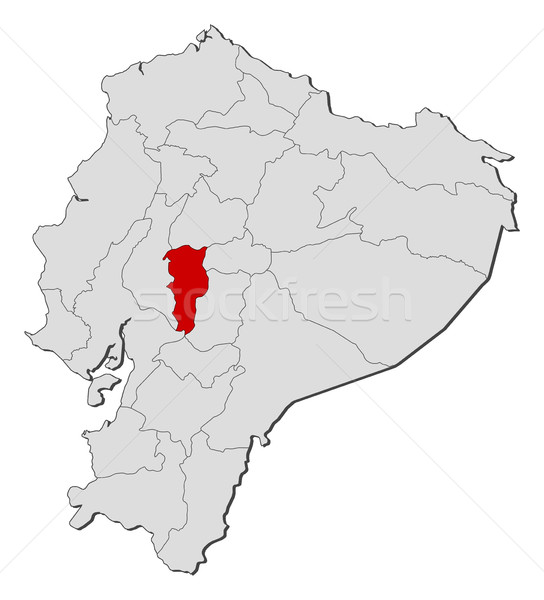 Map - Ecuador, Bolivar Stock photo © Schwabenblitz