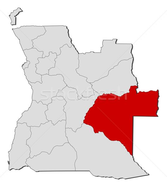 карта Ангола политический несколько мира аннотация Сток-фото © Schwabenblitz