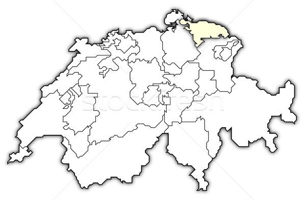 地図 政治的 いくつかの 抽象的な 背景 通信 ストックフォト © Schwabenblitz