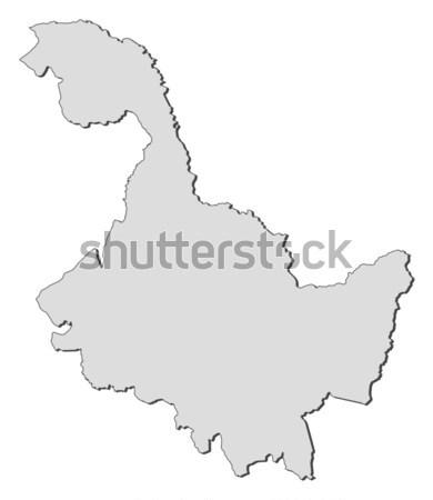 Harita Çin soyut arka plan iletişim siyah Stok fotoğraf © Schwabenblitz