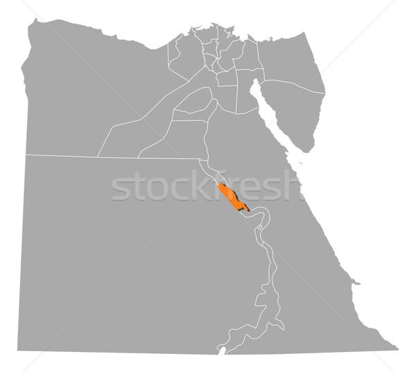 地図 エジプト 政治的 いくつかの 抽象的な 背景 ストックフォト © Schwabenblitz