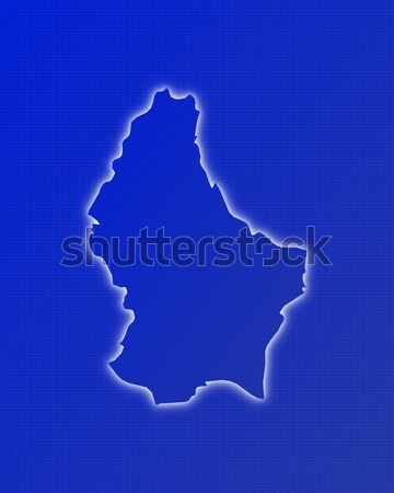 Map of Luxembourg Stock photo © Schwabenblitz