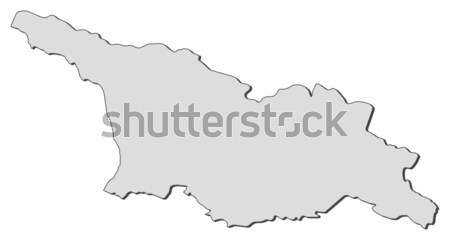 Map of Thuringia (Germany) Stock photo © Schwabenblitz