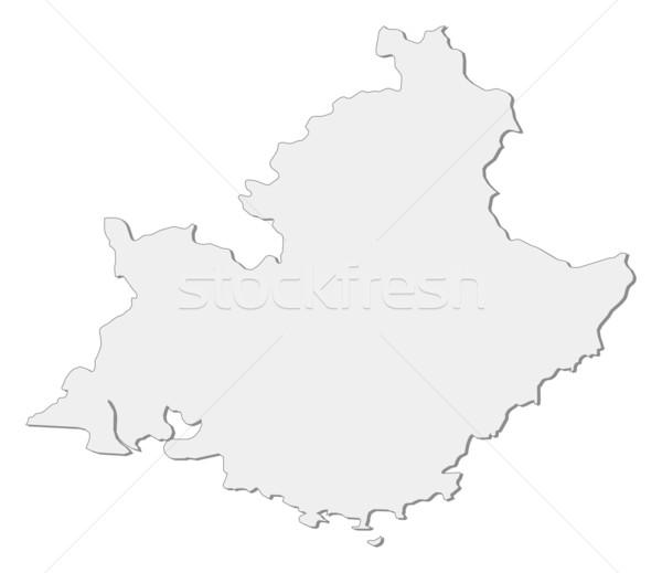 карта аннотация фон связи черный силуэта Сток-фото © Schwabenblitz