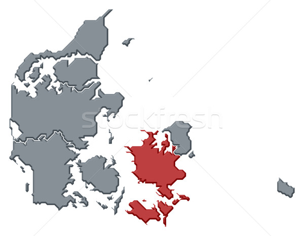 Harita siyasi birkaç bölgeler soyut dünya Stok fotoğraf © Schwabenblitz