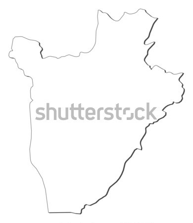Map of Jiangxi (China) Stock photo © Schwabenblitz