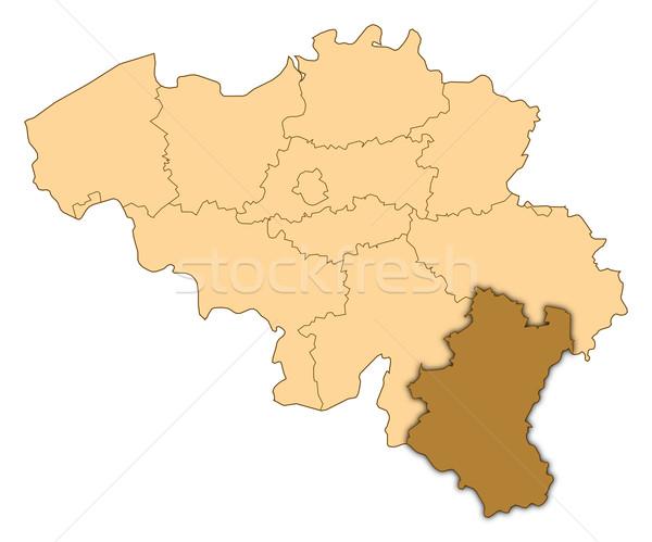 Térkép Belgium Luxemburg absztrakt háttér kommunikáció Stock fotó © Schwabenblitz