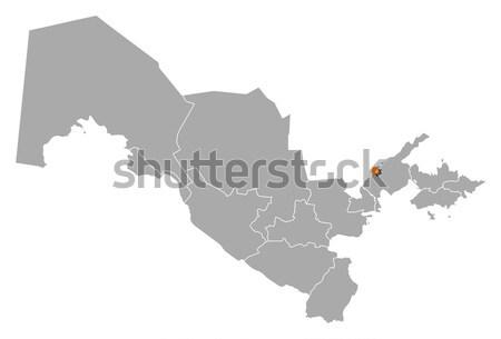 Harita Afganistan siyasi birkaç soyut dünya Stok fotoğraf © Schwabenblitz