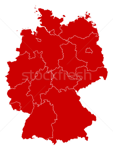 Map - Germany Stock photo © Schwabenblitz