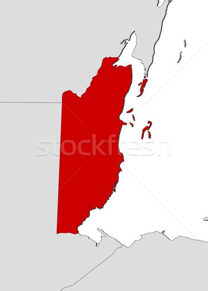Stock fotó: Térkép · Belize · politikai · néhány · absztrakt · világ