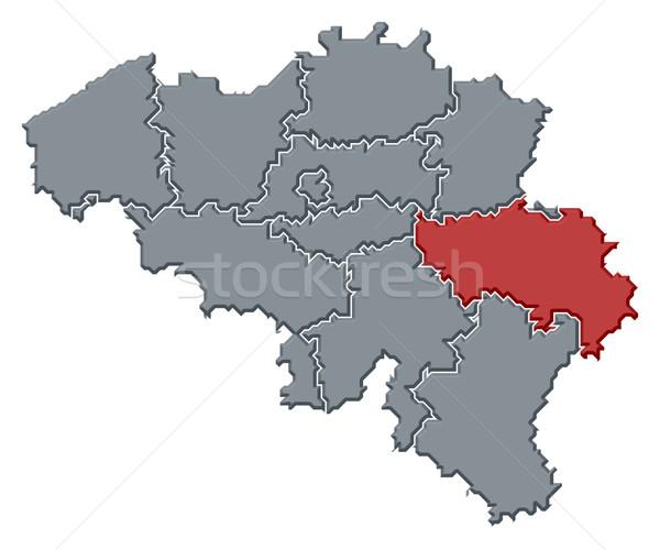 Mapa Bélgica político vários abstrato fundo Foto stock © Schwabenblitz