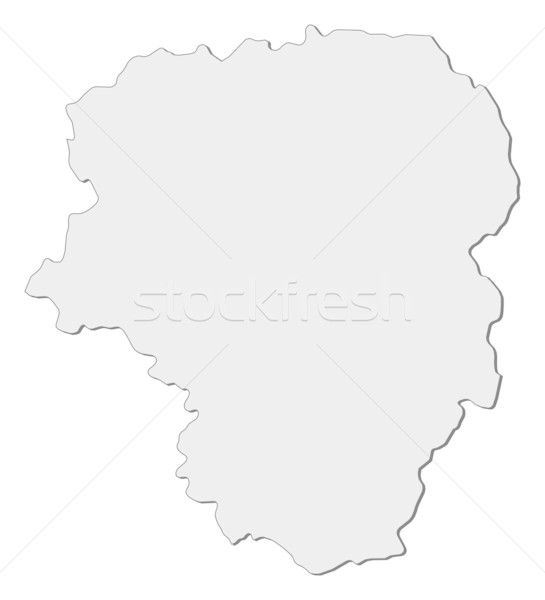 Map of Limousin (France) Stock photo © Schwabenblitz