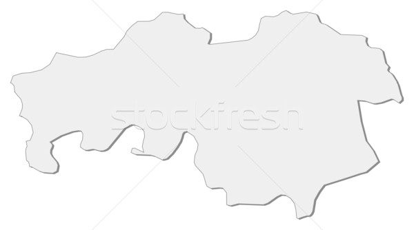 Map of North Brabant (Netherlands) Stock photo © Schwabenblitz