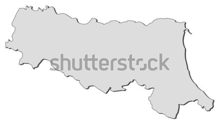 Map of Styria (Austria) Stock photo © Schwabenblitz