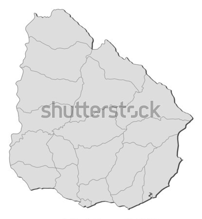 Map - Bhutan Stock photo © Schwabenblitz