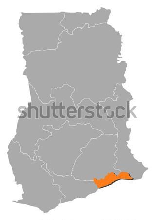 Pokaż Madryt Hiszpania region streszczenie tle Zdjęcia stock © Schwabenblitz