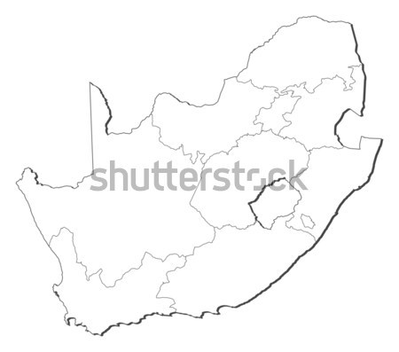 Map of Lazio (Italy) Stock photo © Schwabenblitz