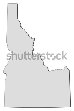 Map of Vermont (United States) Stock photo © Schwabenblitz