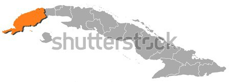 Map of cuba stock photos stock images and vectors stockfresh map of cuba granma highlighted stock photo schwabenblitz gumiabroncs Image collections