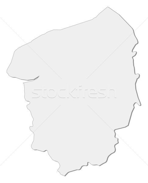 Map of Upper Normandy (France) Stock photo © Schwabenblitz