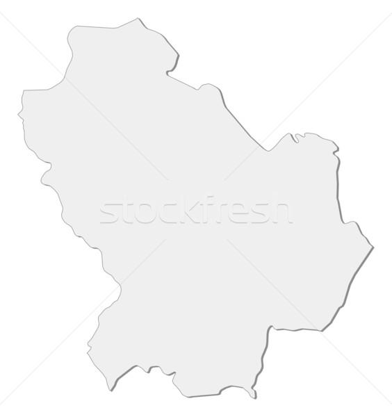 Map Of Basilicata Italy Vector Illustration C Steffen Hammer