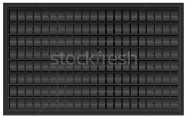 Airport billboard panel Stock photo © sdecoret