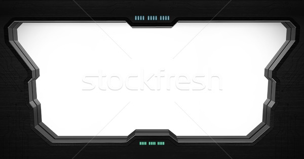 Space station window interior Stock photo © sdecoret