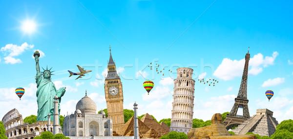 известный Мир памятники мира земле путешествия Сток-фото © sdecoret